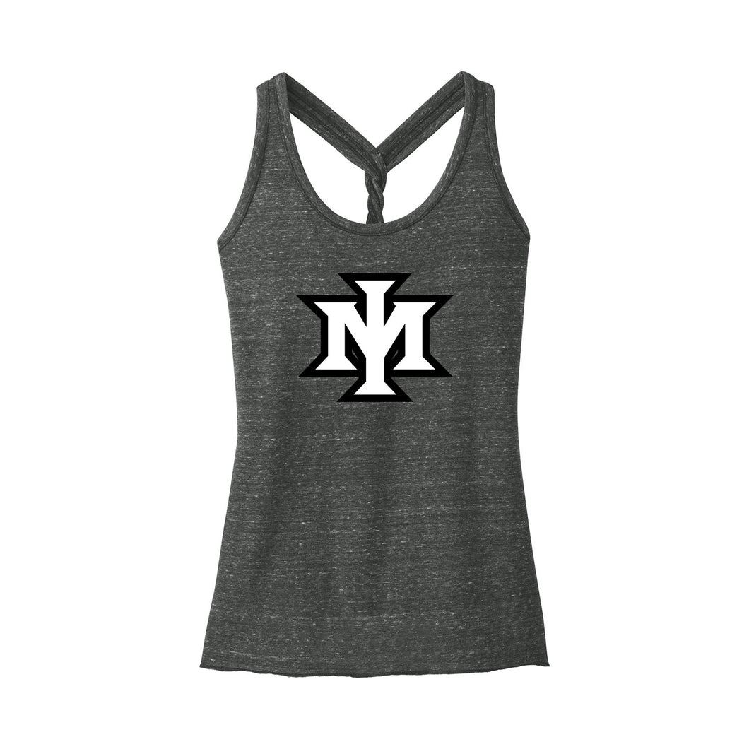 Ironmen Midwest Women's Cosmic Twist Back Tank