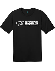 The Brokerage - Men's Perfect Weight Tee (Jet Black)