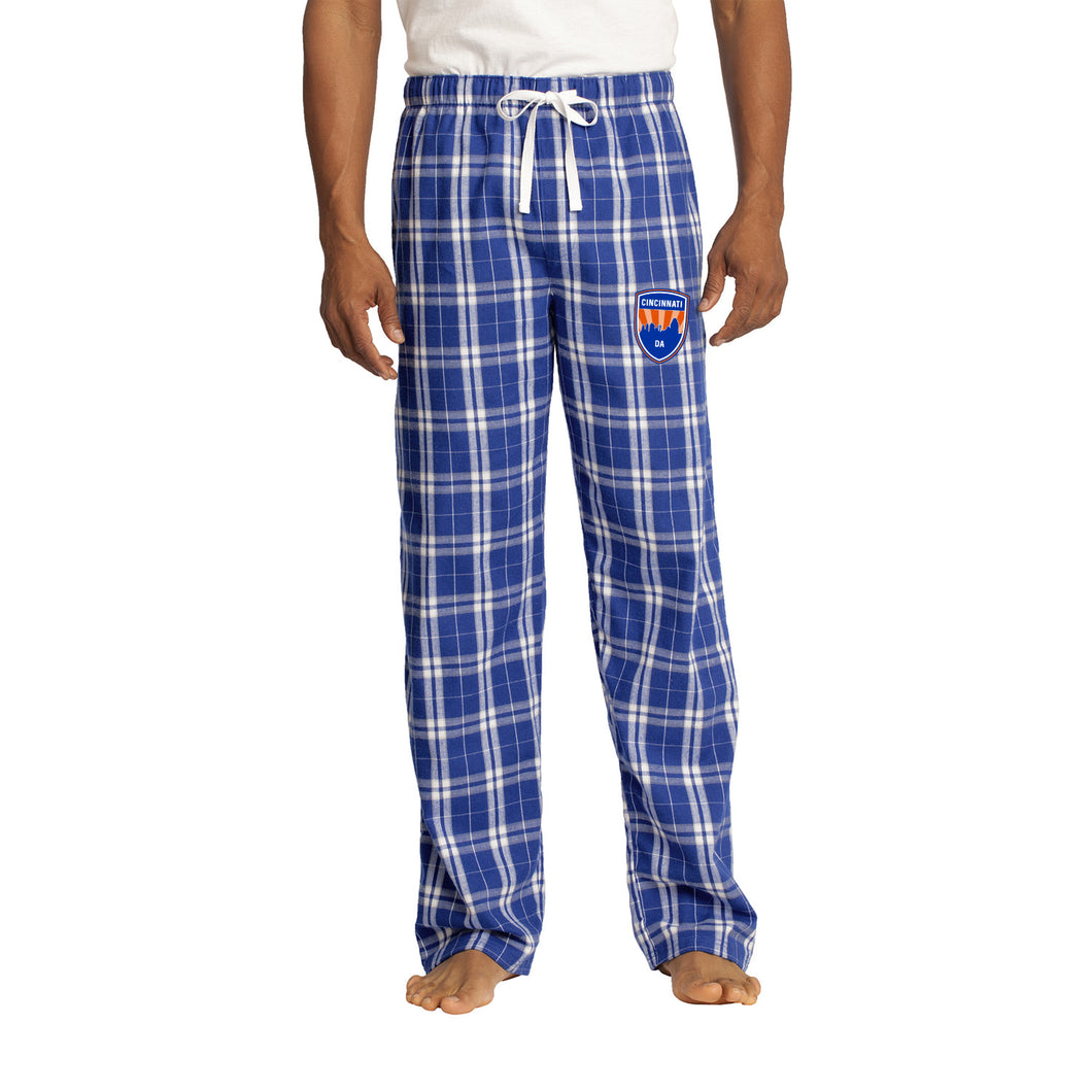 CDA - Flannel Plaid Pant (Deep Royal)