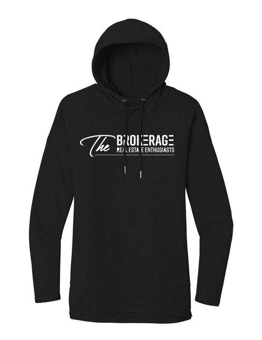 The Brokerage - Women's Featherweight French Terry Hoodie (Black)