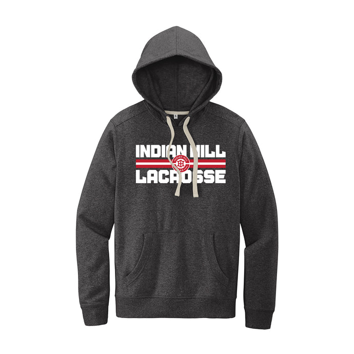 Indian Hill Lacrosse 2021 - Re-Fleece Hoodie (Charcoal Heather)