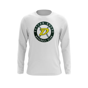 Dayton Ducks Baseball Circle Long Sleeve Tee