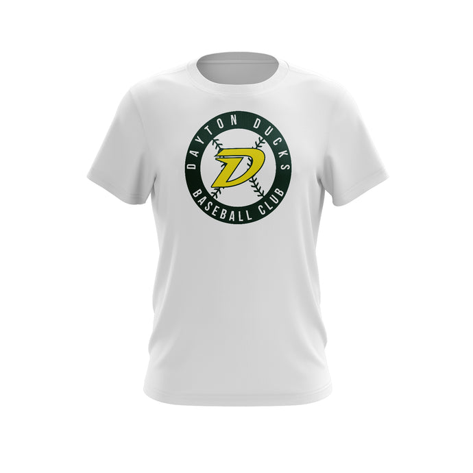 Dayton Ducks Baseball Circle Tee