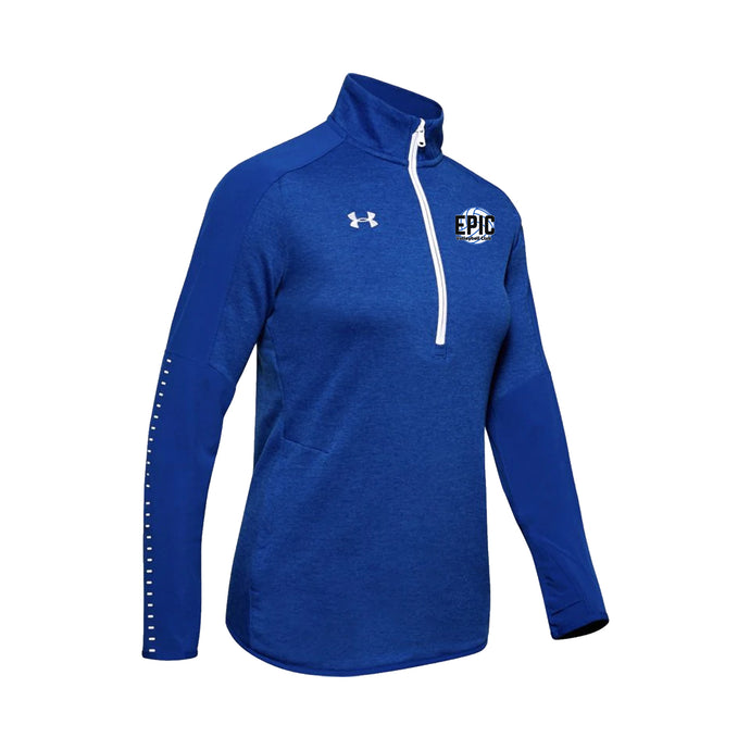 Epic Volleyball Club - UA Women's Qualifier Hy 1/2 Zip (Royal)