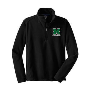 Mason Lacrosse Fleece 1/4 Zip (Black)
