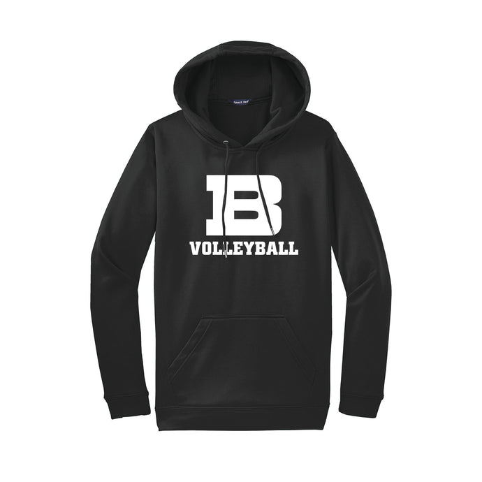 Badin Girls Volleyball 2020 - Fleece Hooded Pullover (Black)