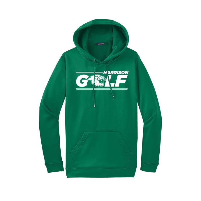 Harrison Golf Dri Fit Hoodie- Kelly Green