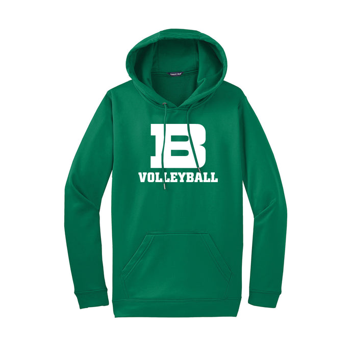 Badin Girls Volleyball 2020 - Fleece Hooded Pullover (Kelly)