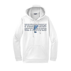 Fairborn Athletics Dri Fit Hoodie (White)