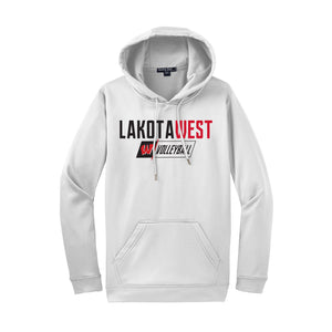 Lakota West Volleyball Hoody (White)