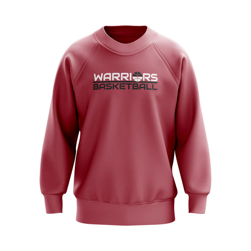 Fairfield Warriors Heavyweight Crewneck (NAME & NUMBER ON BACK)