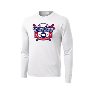 Grandview Little League Baseball/Softball Dri Fit LS Tee