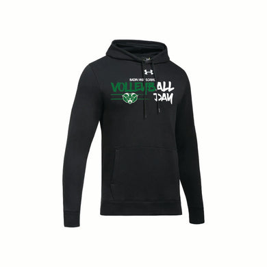 Badin Boys Volleyball UA Hustle Fleece Hoodie