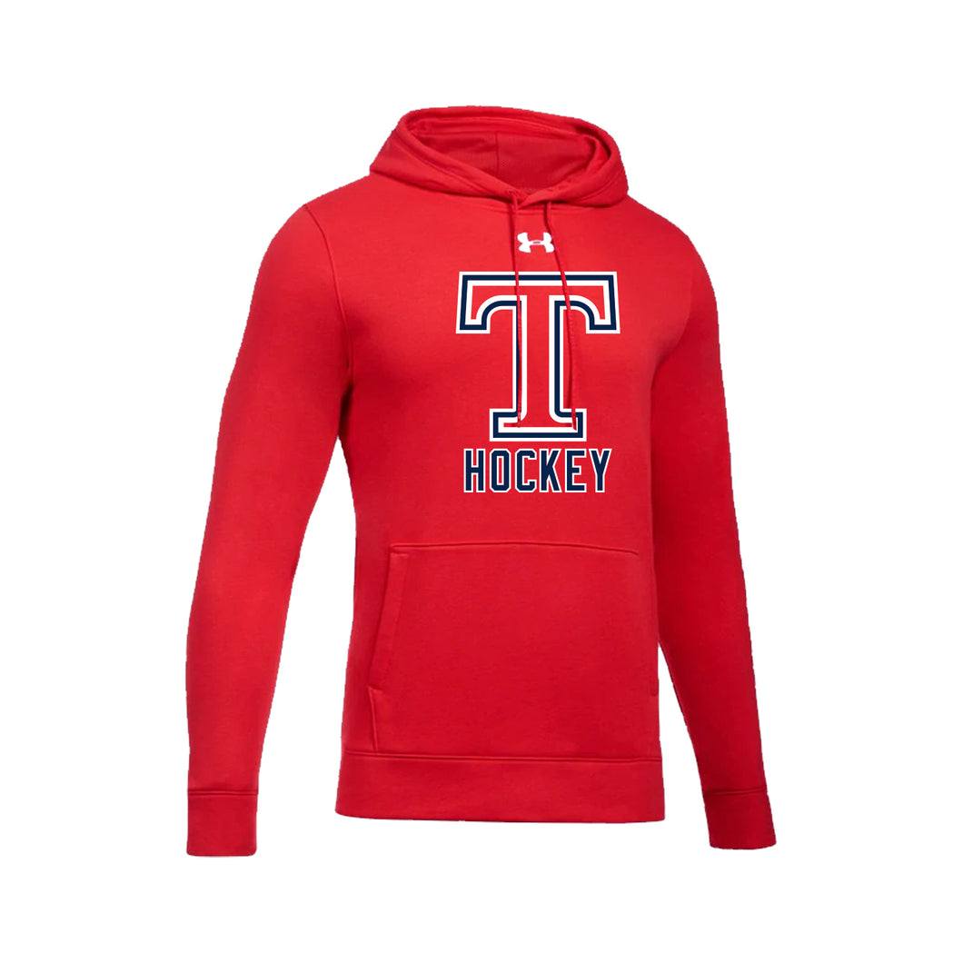 Talawanda Hockey - UA Hustle Fleece Hoody (Red)