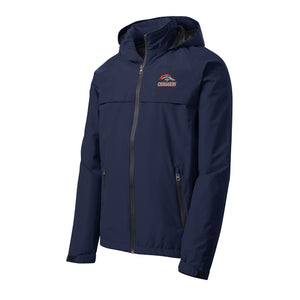 Brokerage Chargers - Torrent Waterproof Jacket (True Navy)