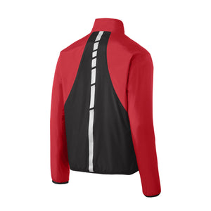 West Bowling - Reflective Hit Full-Zip Jacket (Red/Black)
