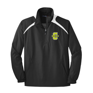 Cincy Shock Softball 1/2 Zip Wind Jacket