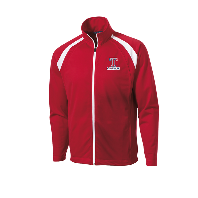 Talawanda Lacrosse - Tricot Track Jacket (Red)