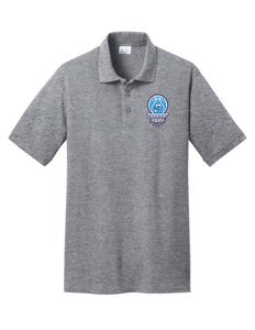 Fairborn Basketball - Core Blend Pique Polo (Athletic Heather)