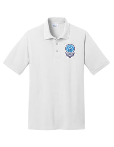 Fairborn Basketball - Core Blend Pique Polo (White)