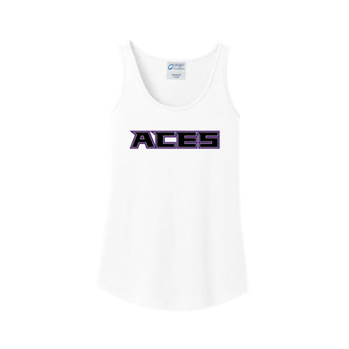 Aces Softball - Ladies Tank (White)