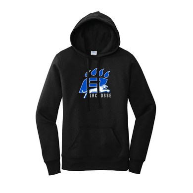 Hilliard-Bradley Lacrosse - Ladies Core Fleece Pullover Hooded Sweatshirt (2 Colors)