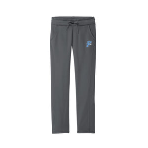 Fairborn Athletics - Ladies Fleece Pant (Dark Smoke Grey)