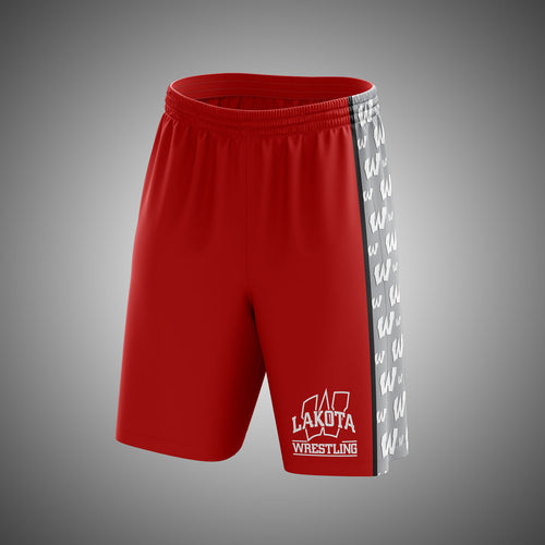LW Wrestling HDLNS Fight Shorts