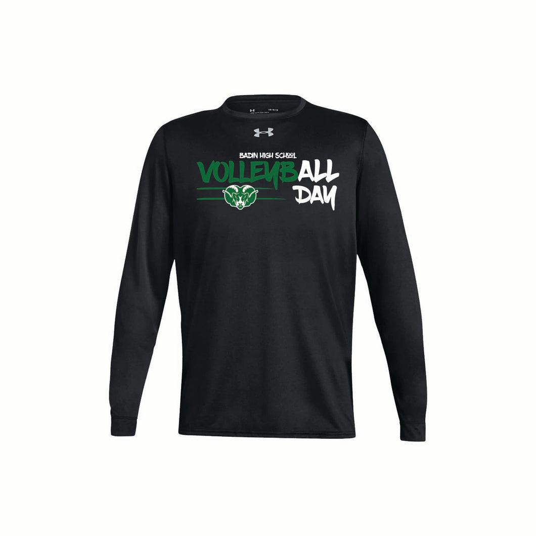 Badin Boys Volleyball UA Locker Tee 2.0 LS