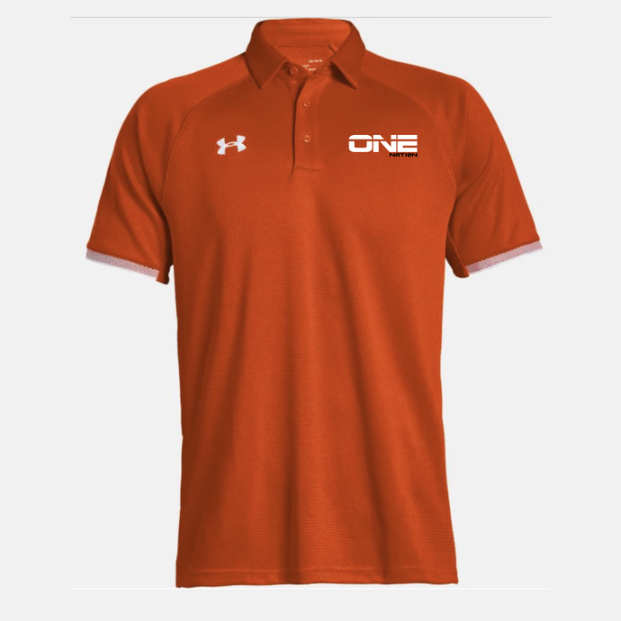 One Nation - Umpire Polo (Orange) - Primary Umpire Shirt - UA / Nike