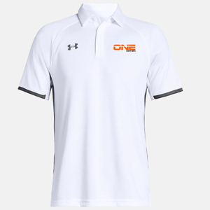 One Nation - UA Rival Polo (White) - Alternate Umpire Shirt