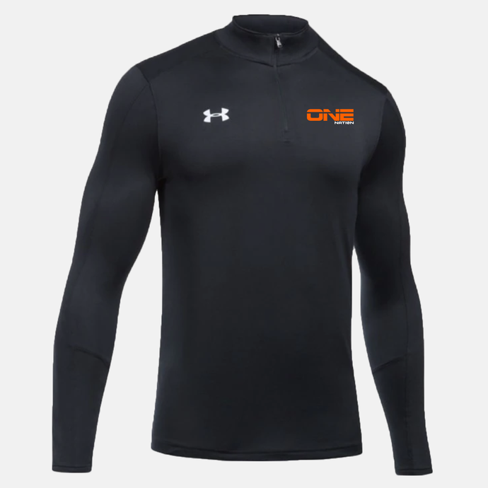 One Nation UA Locker 1/4 Zip - Black