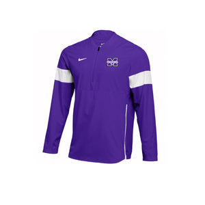 Middletown Athletics - Nike Therma 1/2 Zip Top (Purple)