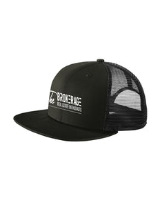 The Brokerage - Snapback Trucker Cap (Black/Black)