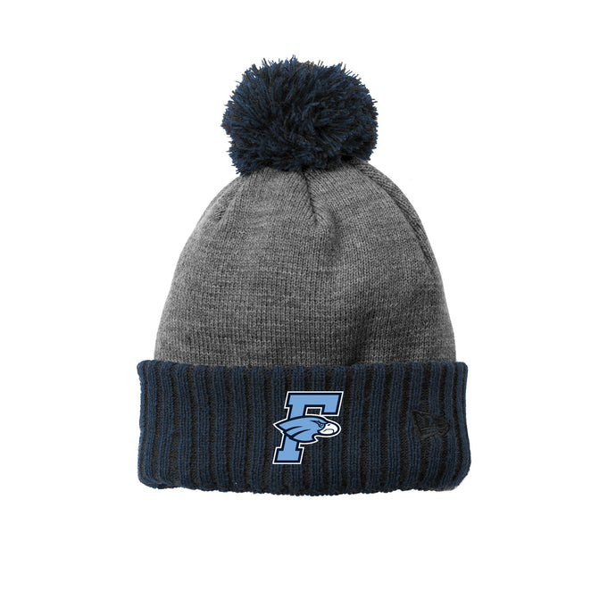 Fairborn Wrestling 2020 - New Era Colorblock Cuffed Beanie (Navy)
