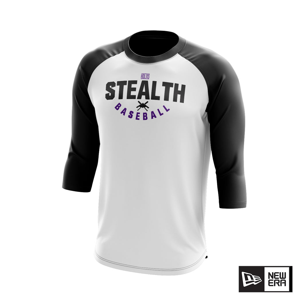 Stealth Baseball New Era Raglan Tee