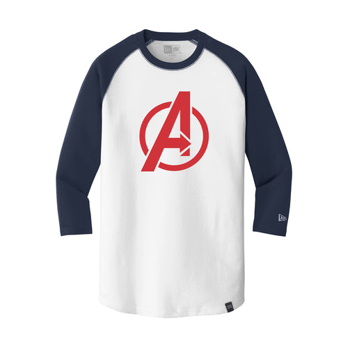 Avengers Baseball New Era 3/4 Sleeve Raglan Tee