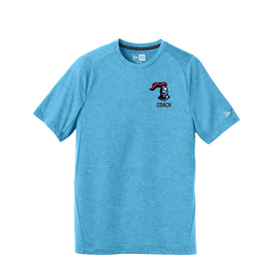Kings Youth Football Coaches - New Era Series Performance Crew Tee (Sky Blue)