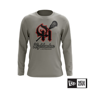 Oak Hills Highlanders Lacrosse New Era LS Tee