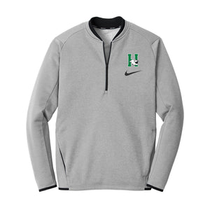 Harrison Girls Basketball 2020 - Nike Therma-FIT Textured Fleece 1/2-Zip (Grey)