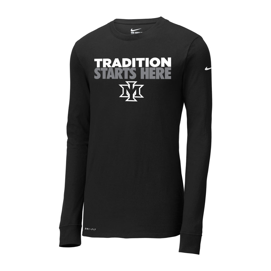 Ironmen Midwest Nike Dri-FIT Cotton/Poly LS Tee