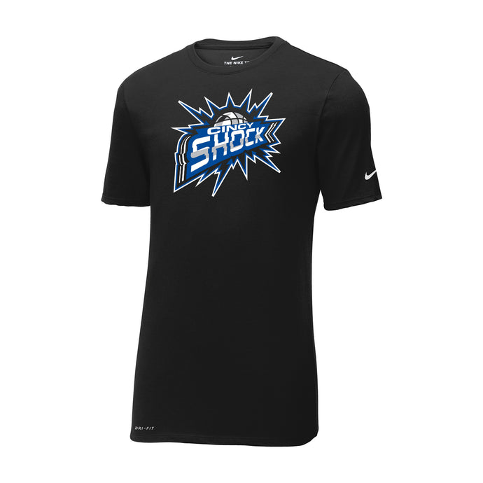 Cincy Shock Nike Dri-FIT Cotton Poly Tee