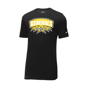 Johnston Generals Nike Dri-FIT Cotton/Poly Tee