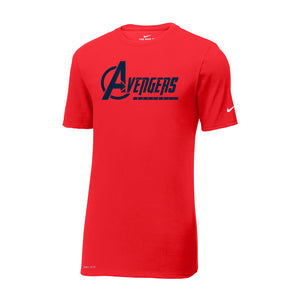 Avengers Baseball Nike Dri-FIT Tee (Red)