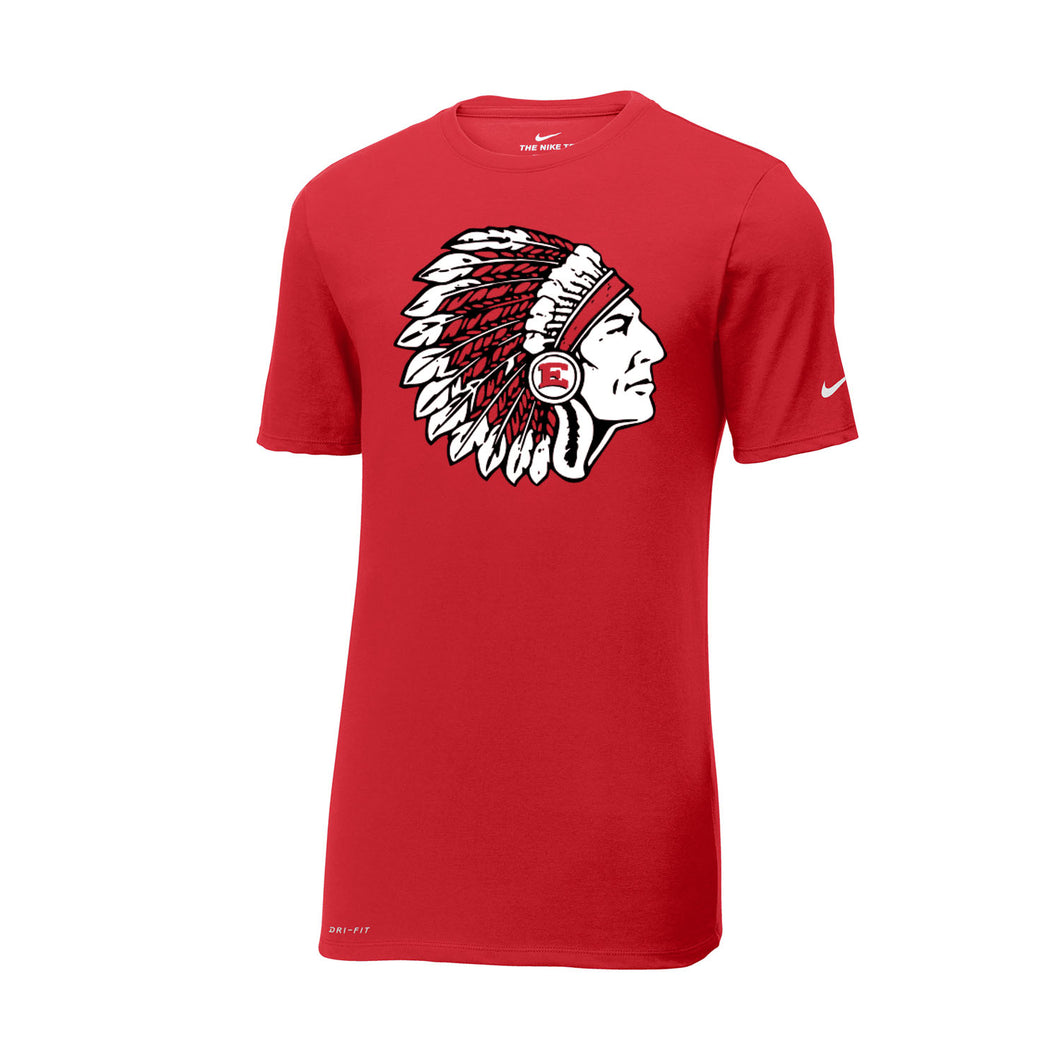 East Scarlets Golf Nike Dri-FIT Cotton/Poly Tee