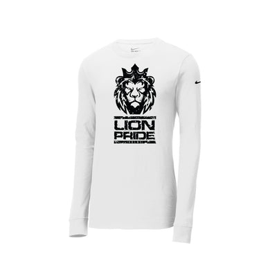 Delaware Lions - Nike Core Cotton Tee LS (White)