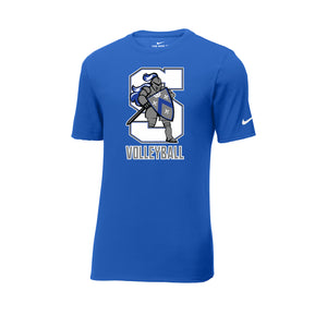 The Summit Volleyball -  Nike Core Cotton Tee (Game Royal)