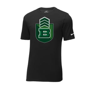 Badin Football Nike Core Cotton Tee (Black)