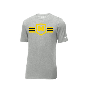 Moeller Hockey - Nike Core Cotton Tee (Heather Grey)