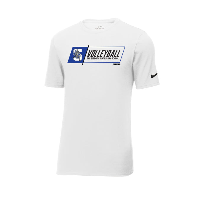 The Summit Volleyball -  Nike Core Cotton Tee (White)